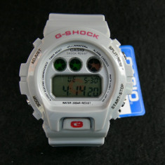 CASIO G-SHOCK DW-6900-LIGHT GREY-BACKLIGHT-POZE REALE-MODEL NOU-CEASUL EMINEM - Ceas barbatesc Casio, Sport, Quartz, Alarma, Electronic