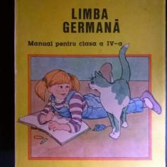 Limba Germana Manual pentru clasa a IV-a {1994} - Carte in germana