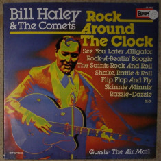 Vinyl/vinil Bill Haley ,guest The Air Mail  – Rock Around The Clock ,Germany