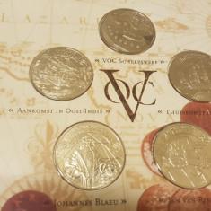 Set  Monetarie Olanda - 5 x 3 Daalders