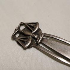 Semn de Carte argint Heraldica BALANTA superb SPLENDID de Colectie, Ornamentale