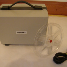 Aparat proiectie film HANIMEX LOADMATIC IQ DUAL 3000(made in Japan)