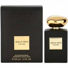 Parfum Tester Armani Prive Cuir Noir 100 Ml