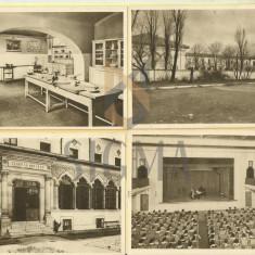 20 CARTI POSTALE, SCOALA CENTRALA DE FETE DIN BUCURESTI ( arhitect I. Mincu ), 1935
