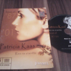 CD PATRICIA KAAS-BEST OF '87-'01 RIEN NE S'ARRETE ORIGINAL JURNALUL NATIONAL - Muzica Ambientala