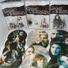 Urzeala tronurilor Game of Thrones 2011 6 sezoane DVD - Film serial, Aventura, Romana