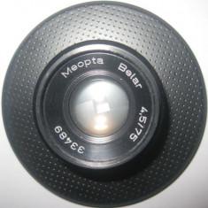 Obiectiv Meopta Belar 4.5_75 diam. 7cm. Stare foarte buna. - Accesoriu foto