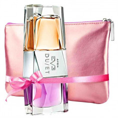 Parfum Eve Duet*Avon*50ml sigilat+geanta de cosmetice cadou - Set parfum