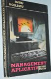 Management Aplicativ - Ovidiu Nicolescu - Studii de caz