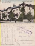 Vatra Dornei (Bucovina, Suceava)-Hotel-cenzura WWI, WK1, Circulata, Printata