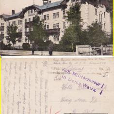 Vatra Dornei (Bucovina, Suceava)-Hotel-cenzura WWI, WK1 - Carte Postala Bucovina 1904-1918, Circulata, Printata
