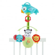 Carusel 3 in 1 Rainforest Friends Fisher Price - Lampa veghe copii