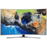 Televizor Samsung LED Smart TV Curbat UE49 MU6502 124cm Ultra HD 4K Silver, 125 cm