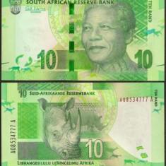 Africa de Sud 2012 - 10 rand UNC, Mandela - bancnota africa