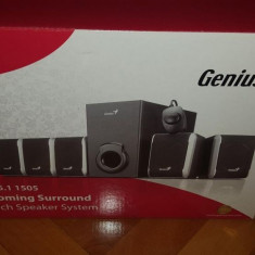 Sistem audio 5.1 Genius - Boxe PC