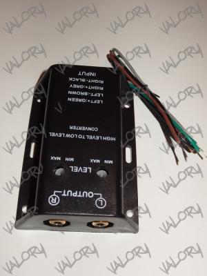 Convertor audio high to low level ( semnal boxa amplificator statie RCA ) NOU foto