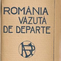 N. Batzaria - Romania vazuta de departe - 1922 - Carte veche