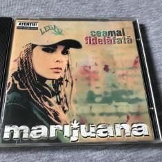 CD Album Marijuana - Cea mai fidela fata 2000 Cd Hip Hop Rap Romanesc - Muzica Hip Hop cat music