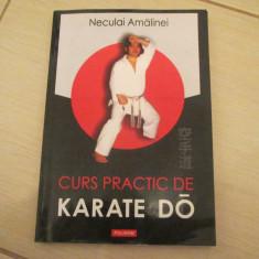 CURS PRACTIC DE KARATE DO NUCULAI AMALINEI - Carte sport