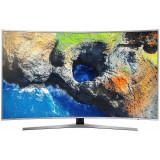 Televizor Samsung LED Smart TV Curbat UE55 MU6502 139cm Ultra HD 4K Silver, 139 cm