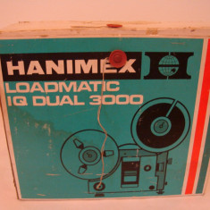 Aparat proiectie film HANIMEX LOADMATIC IQ DUAL 3000(made in Japan) - Aparat Filmat