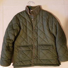 Jacheta matlasata H&M pentru baieti varsta 6-8 ani, Marime: 30, Culoare: Verde