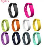 Curea Fitbit Flex, culoarea negru, alb,  verde, albastru, roz