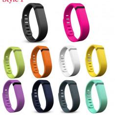 Curea Fitbit Flex, culoarea negru, alb, verde, albastru, roz - Bratara Fitbit Flex