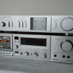 Akai GX-F35 si AKAI AM-U 01