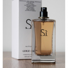 Parfum Tester Giorgio Armani Si -100 ml - Parfum femeie Armani, Apa de parfum, Floral