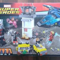 Lego 76051 Original - Super Eroi: Batalia de la aeroport - nou, sigilat in cutie