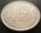 Moneda 100 Lei - ROMANIA, anul 1994  *cod 3724