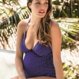 Costum de baie pentru gravide Electric Blue