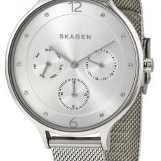 Skagen SKw2312 ceas dama nou 100% original. Garantie. Livrare rapida., Casual, Quartz, Inox, Ziua si data