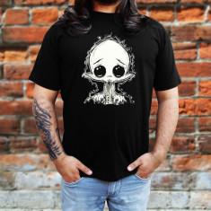 Tricou Rock Vampire - Tricou barbati, Marime: S, M, L, XL, XXL, Culoare: Negru, Maneca scurta, Bumbac