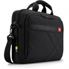 Geanta laptop Case Logic DLC 117, 17.3 inch, Poliester, Negru, Nailon