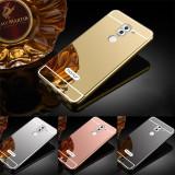 Cumpara ieftin Husa / Bumper aluminiu + spate acril oglinda pentru Huawei Honor 6X