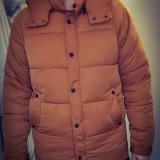 Geacă de iarnă - Geaca barbati Pull & Bear, Marime: M, Culoare: Maro