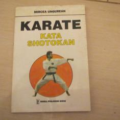 KARATE KATA SHOTOKAN MIRCEA UNGUREAN - Carte sport