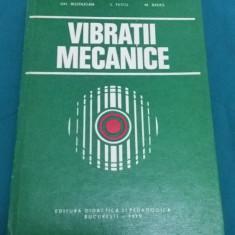 VIBRAȚII MECANICE/ GH. BUZDUGAN/ 1979