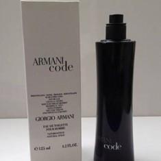ParfumTester  Giorgio Armani Code - 125 Ml, Apa de toaleta, Lemnos oriental