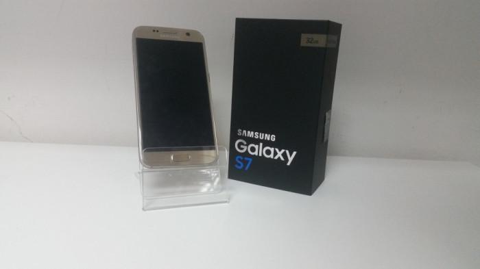 Samsung Galaxy S7, 32GB , Gold , Liber de retea  ,Factura & Garantie 30 zile ! foto mare