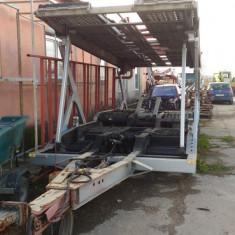 Platforma transport autoturisme - Remorca