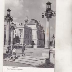 Bnk cp Oradea - Sfatul popular orasanesc - circulata - Carte Postala Crisana dupa 1918, Printata