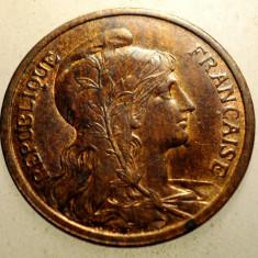 J.248 FRANTA 2 CENTIMES 1902 XF, Europa, Bronz