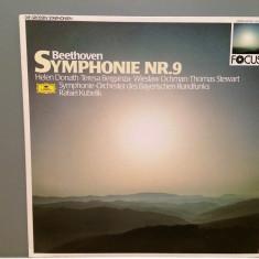 Beethoven - SYMPHONY 9 - dir.Rafael Kubelik (1976/Polydor/RFG)- VINIL/Impecabil - Muzica Clasica deutsche harmonia mundi