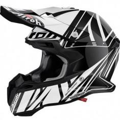Airoh Terminator 2.1 Cut 2016 Alb-Negru - Casca moto