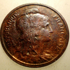 J.253 FRANTA 2 CENTIMES 1916 XF, Europa, Bronz