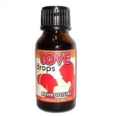 Love Drops afrodisiace picaturi, 20ml - Stimulente sexuale