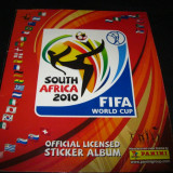 Album PANINI SOUTH AFRICA 2010 incomplet(332/637 stickere)